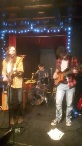 Jordan Smith and his band