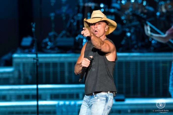 Kenny Chesney performs to a sold out Molson Amphitheatre in Toronto. Photo: Scott Burns