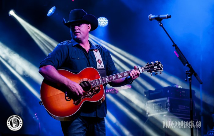 Gord Bamford performs at Hagersville Rocks 2016