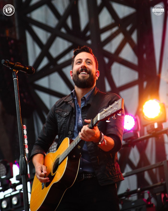Old Dominion on stage at the 2016 Cavendish Beach Music Festival - Photo: Garett Mosher