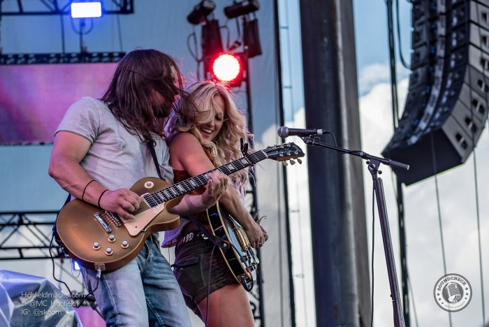 Meghan Patrick performs at CMT Music Fest in Kitchener - Photo Mike Highfield