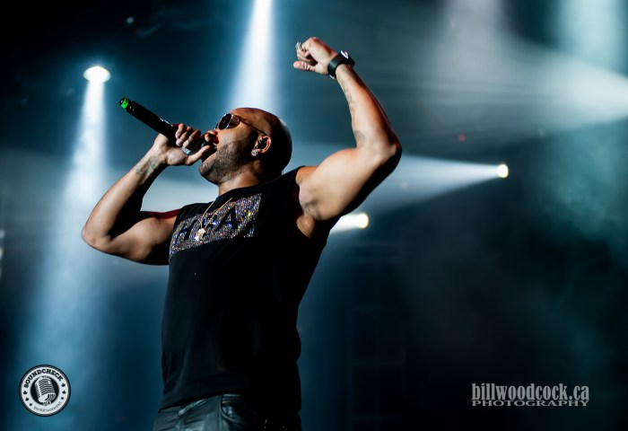 Flo Rida performs at Rock The Park in London. Photo: Bill Woodcock