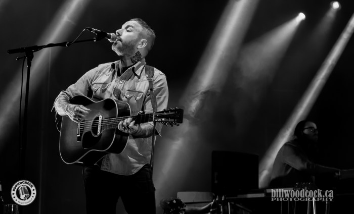 City and Colour perform at Rock The Park in London. Photo: Bill Woodcock