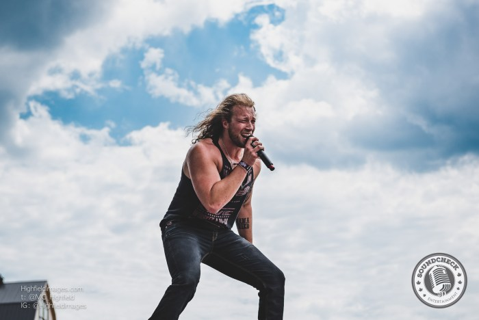 Cory Marquardt performs at the Main Stage at Boots & Hearts 2016 - Photo: Mike Highfield