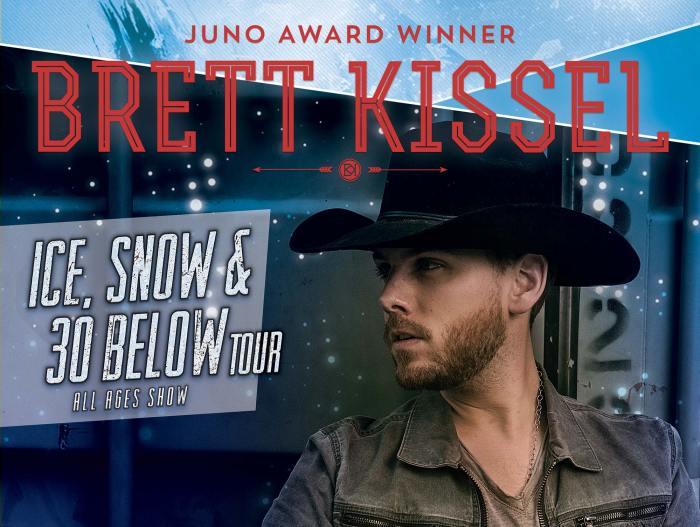 Brett Kissel Ice Snow and 30 Below Tour