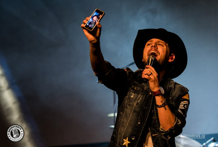 Brett Kissel performs during the Invictus Party during CCMA Week in London - Photo: Bill Woodcock