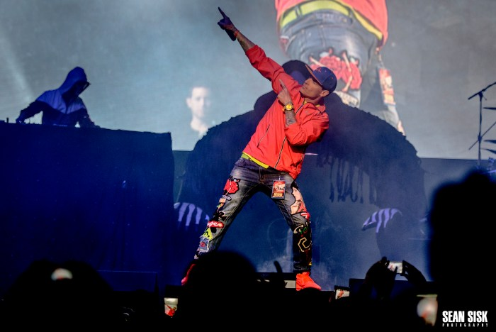 Vanilla Ice performs at TD Place as part of the I Love the 90s Tour - photo by Sean Sisk for Sound Check Entertainment