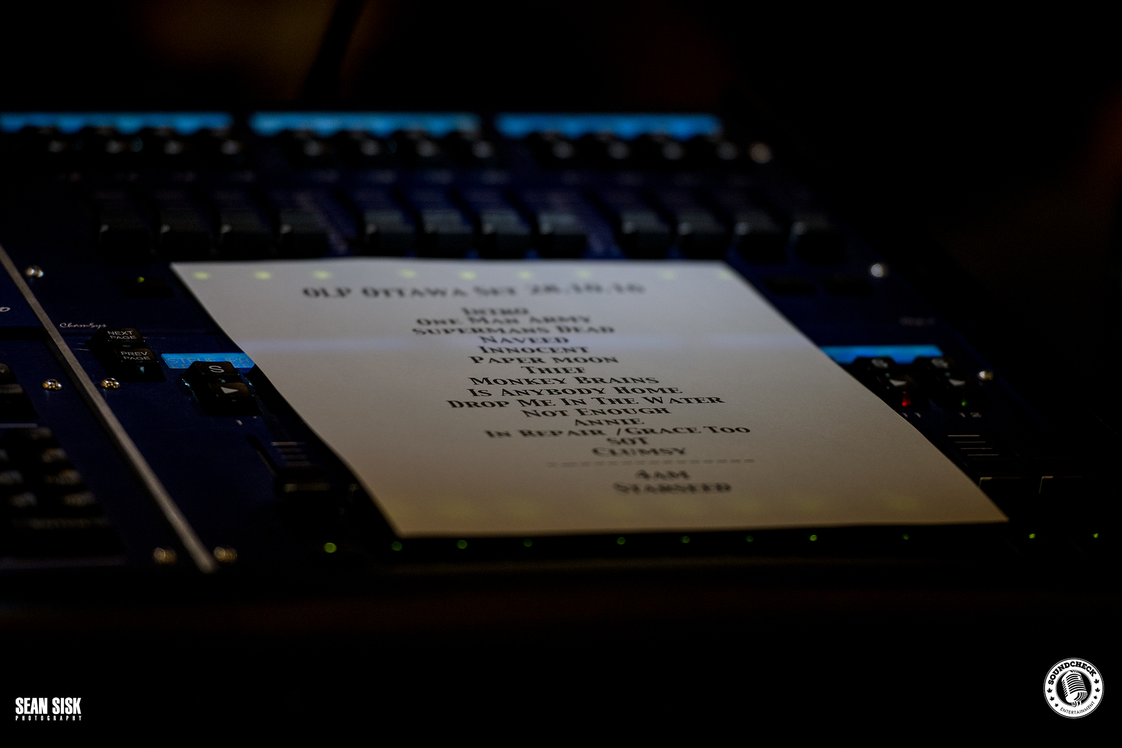 Our Lady Peace Set List