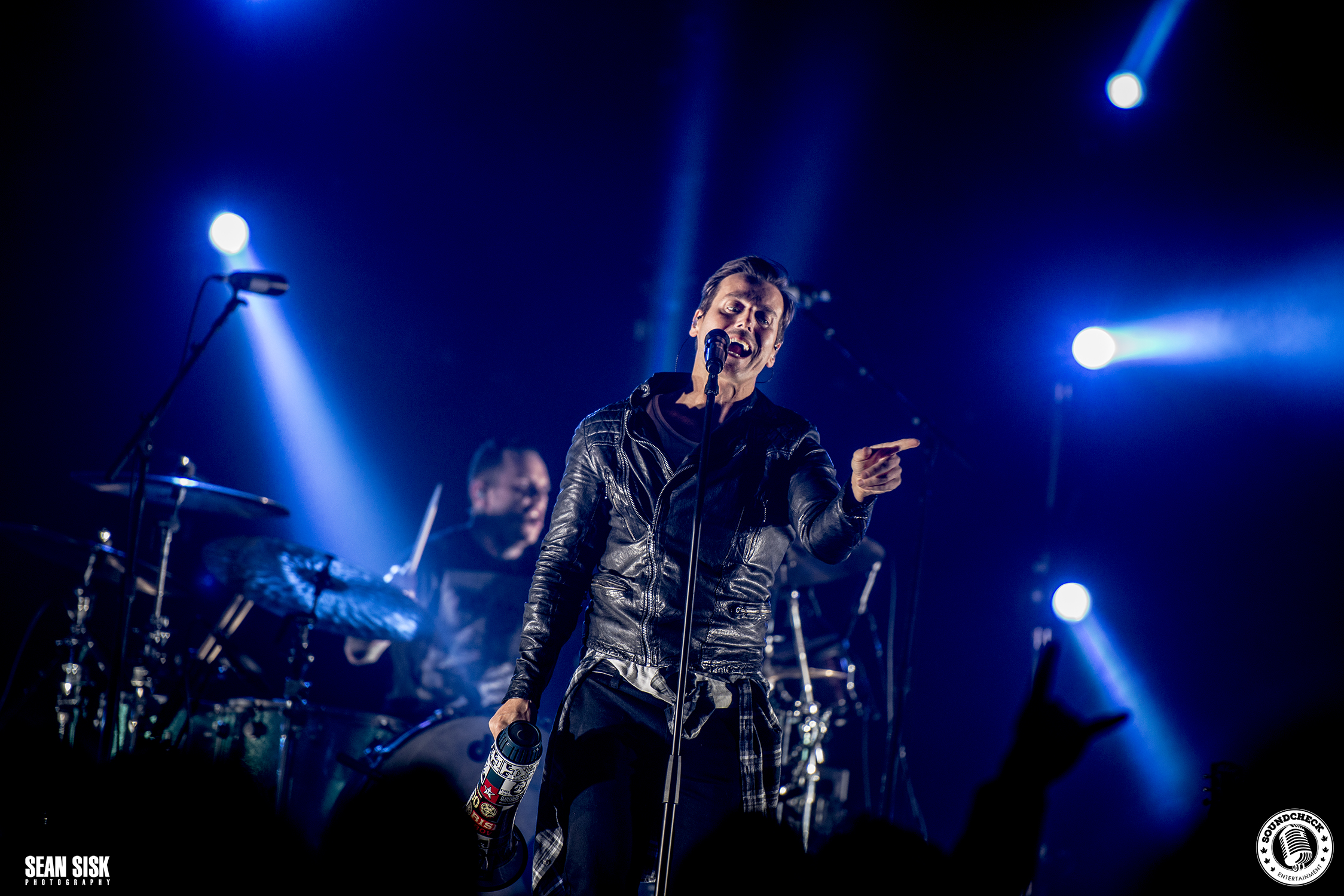 Raine Maida performs at TD Place with I Mother Earth – photo by Sean Sisk for Sound Check Entertainment