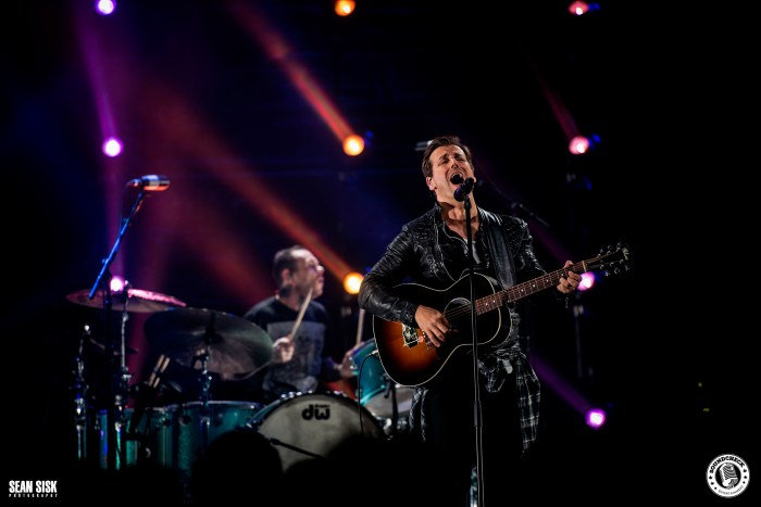 Raine Maida performs at TD Place with Our Lady Peace – photo by Sean Sisk for Sound Check Entertainment