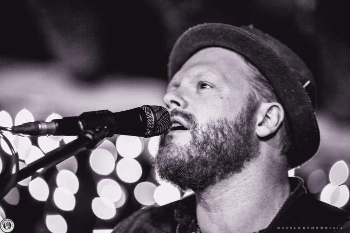 Shawn Tavenier of Silver Creek performs at LIVE on Elgin for Beards for Breasts photo by Dave Di Ubaldo