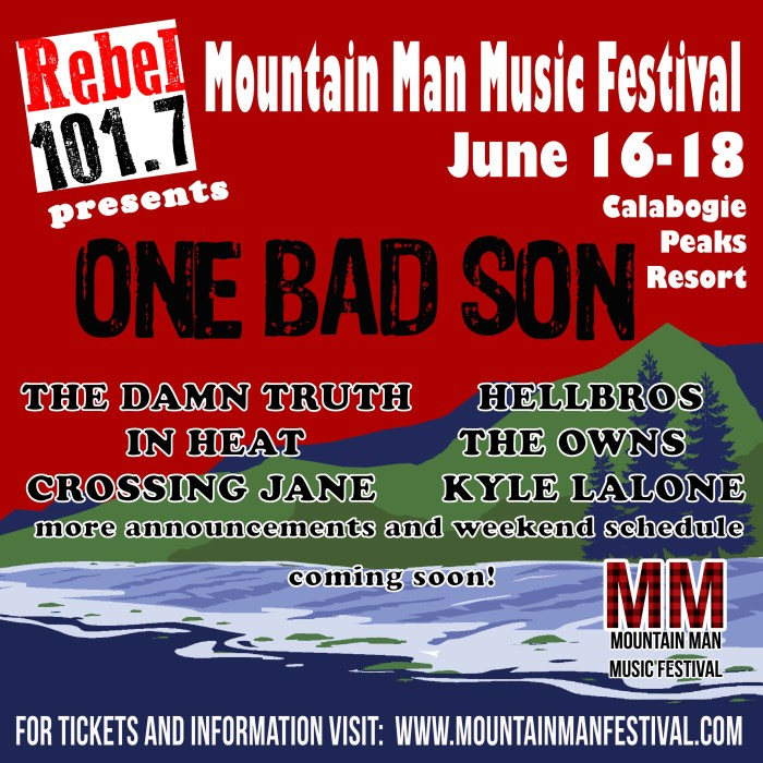 2017 Mountain Man lineup announcement