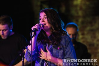 Jess Moskaluke performs at the Ole party during JUNOfest in Ottawa photo Dave DiU
