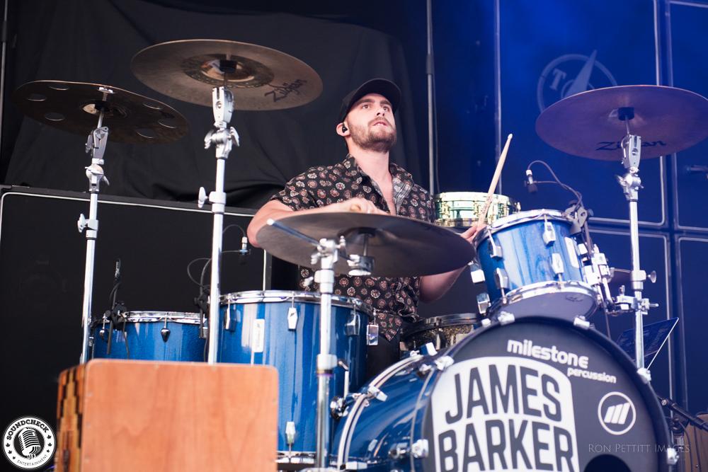 James Barker Band performs at Festival Country de Lotbinière photo by Ron Pettitt