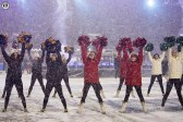Stampeders Outriders perform at the 105th Grey Cup in Ottawa photo Renee Doiron