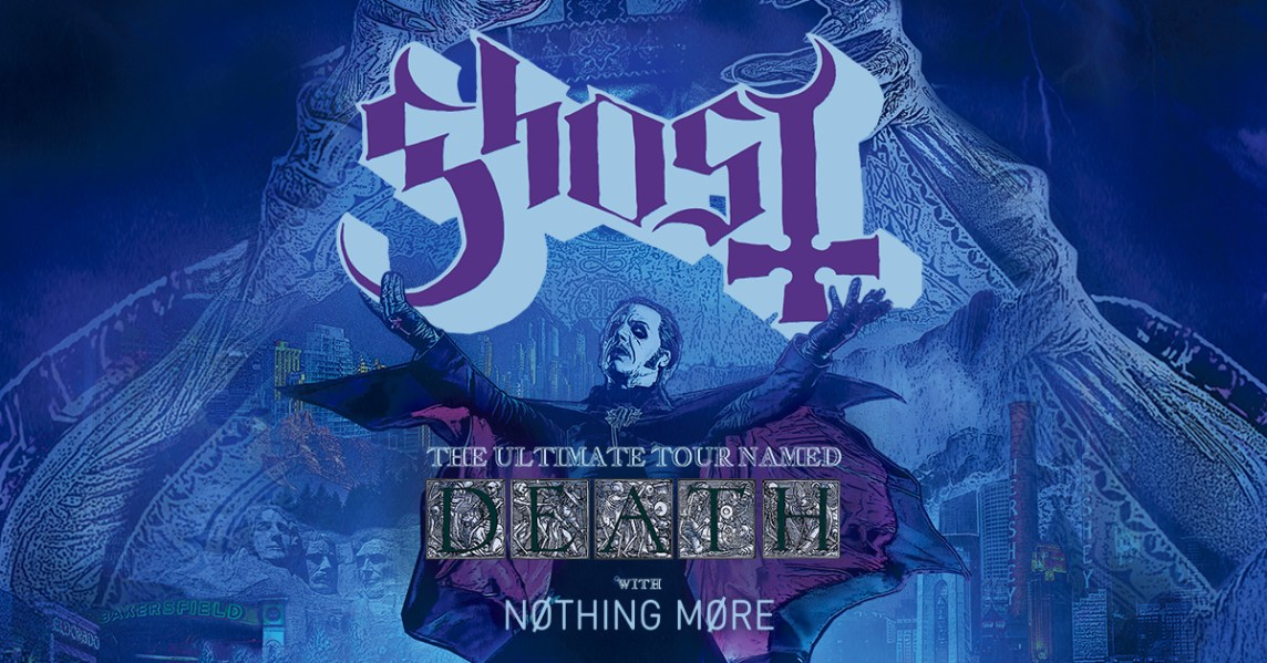 Ghost THE ULTIMATE TOUR NAMED DEATH