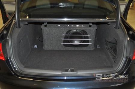 Audi A4 Subwoofer System