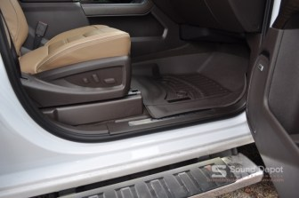 WeatherTech Floor Liners are laser measured to match the vehicle interior perfectly.