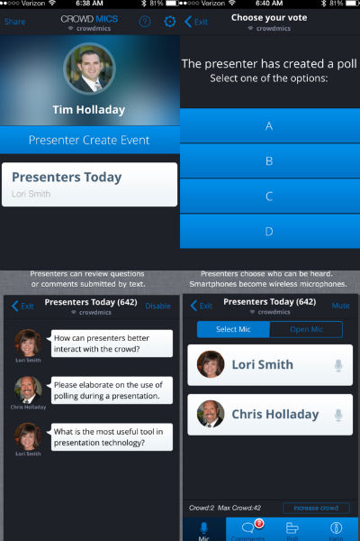 sound-design-live-podcast-crowd-mics-tim-holladay-wireless-microphone-iphone-poll