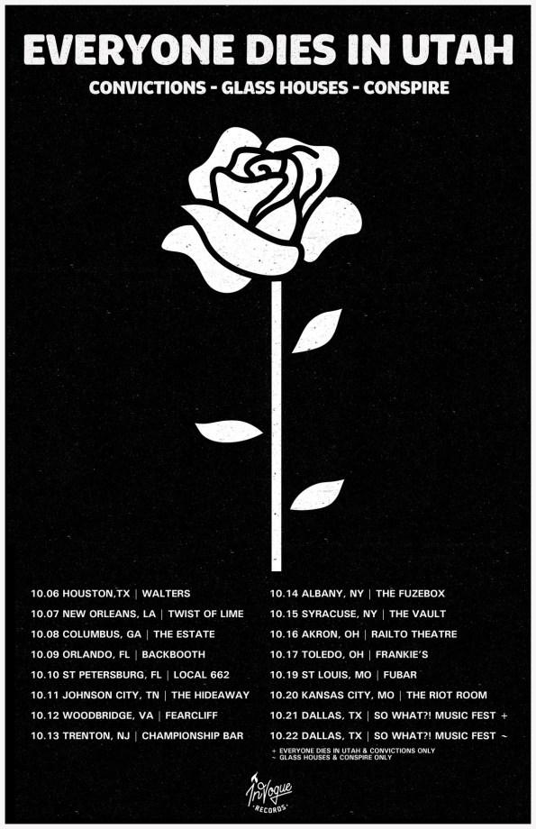Everyone Dies In Utah - Fall Tour 16