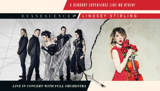Evanescence & Lindsey Stirling Announce North American Co-Headline Amphitheater Tour