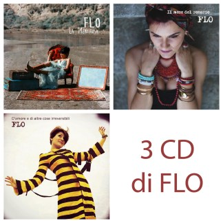 Bundle 3 cd di FLO + shopper