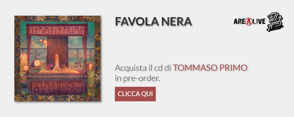 Copertina FAVOLA NERA di Tommaso Primo.