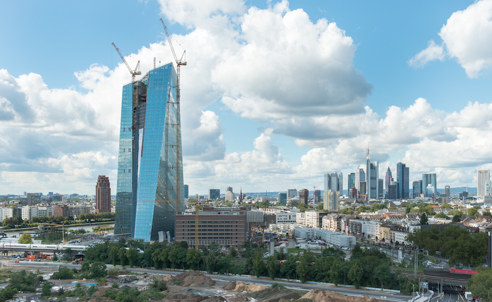 EZB Baustelle Frankfurt