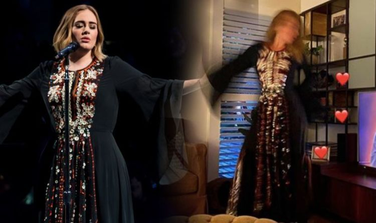 Adele weight loss: Star in Glastonbury dress - diet that ...