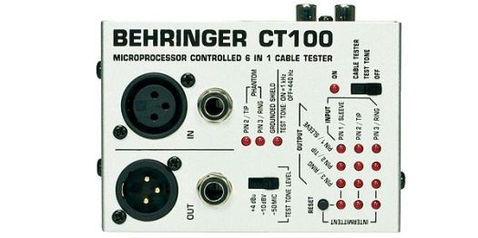 BEHRINGER CT100 Cable Tester サウンドハウス