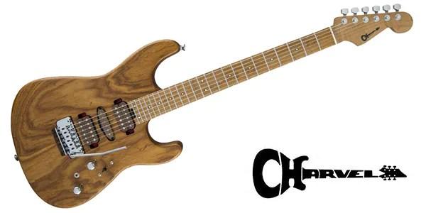 Guthrie Govan Signature Guitar Carmelized Ash Natural Ash