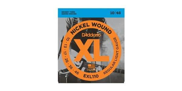 DADDARIO ( ダダリオ ) / EXL110 XL Nickel Round Wound Regular Light