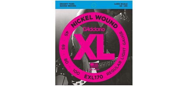 DADDARIO ( ダダリオ ) / EXL170 Nickel Wound Bass Light 45-100