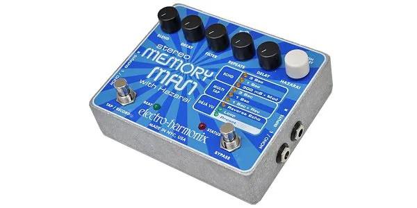 ELECTRO-HARMONIX - Stereo Memory Man With Hazarai -Digital Delay/Looper-