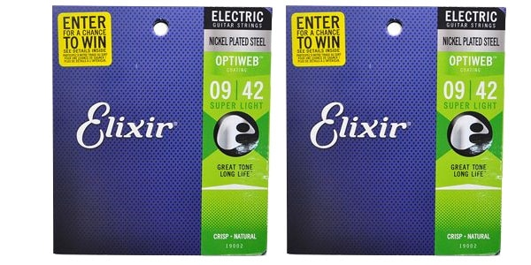 ELIXIR ( エリクサー ) / OPTIWEB Super Light #19002 ツインパックセット