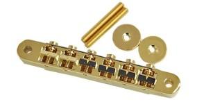 ESP Tune Matic Bridge Gold w/wire