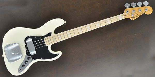 FENDER ( フェンダー ) / American Vintage '74 Jazz Bass Olympic White Maple