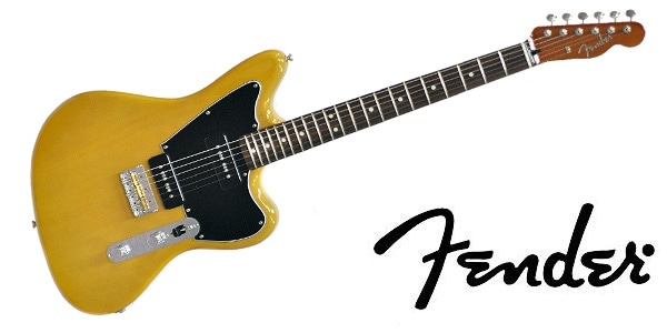 FENDER ( フェンダー ) / LTD MAHOGANY OFFSET TELE P90 Yellow Trans