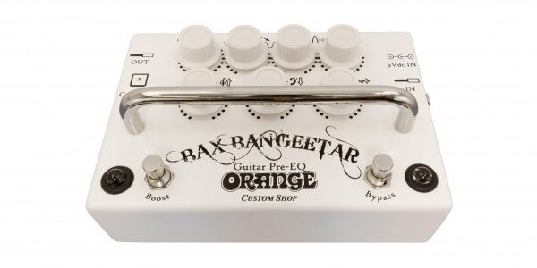 ORANGE ( オレンジ ) / Bax Bangeetar Guitar Pre-EQ WHITE