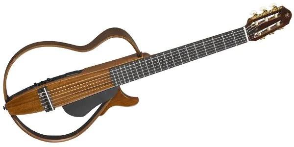 ナイロン弦タイプのサイレントギター。クラシックギターを静かに練習したい方、可搬性を求める方におすすめのアイテムです。静粛性とともにSRTパワードピックアップシステムによる高音質なサウンドを実現しています!