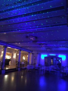 Starry Night wedding at Grand Island Mansion