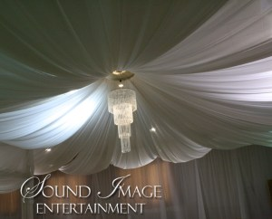 Wedding Draping of walls & ceiling
