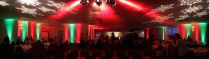 Lighting for Corporate Christmas Event