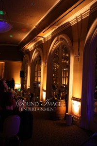 Amber Up-Lighting at Sterling Hotel in Sacramento