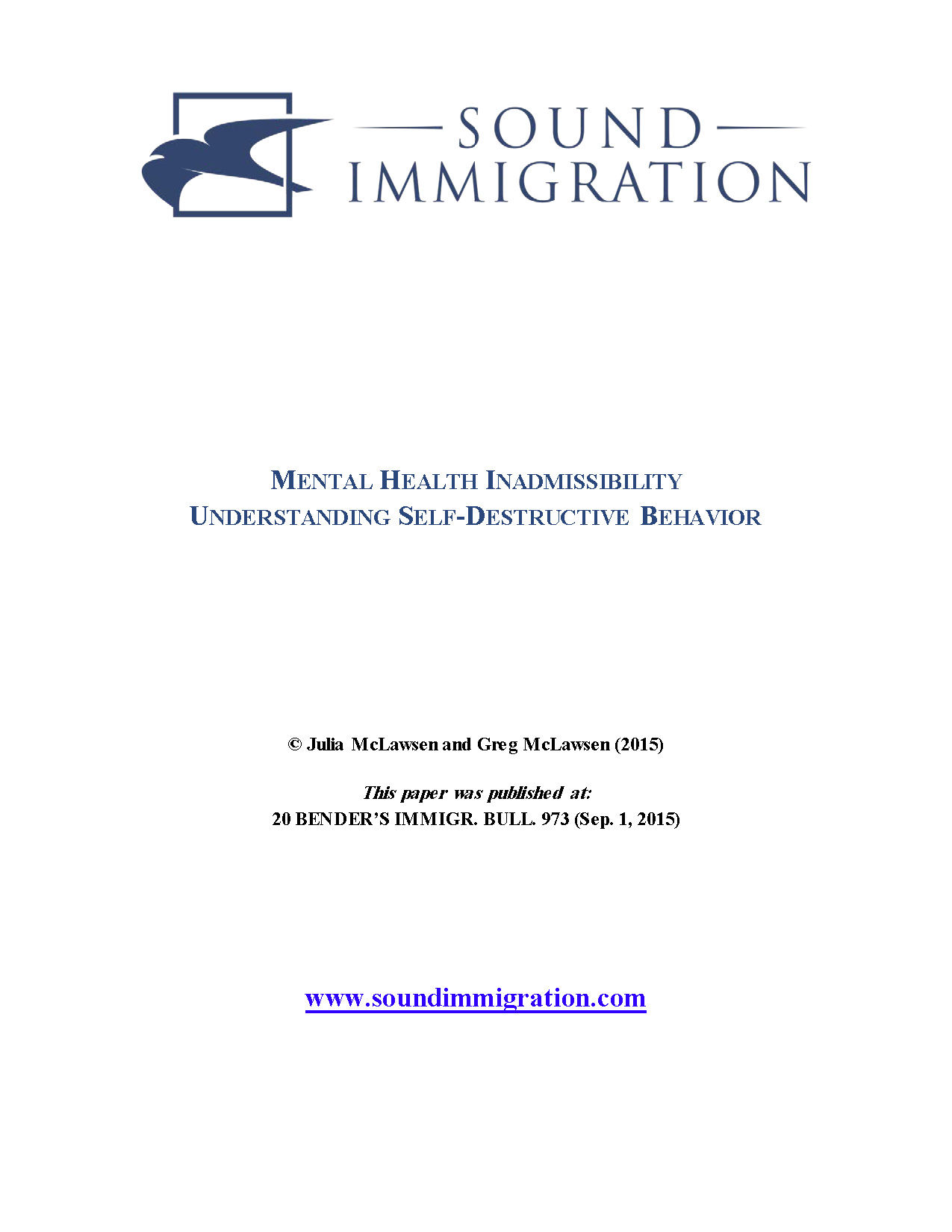 Mental Health Inadmissibility – Cover