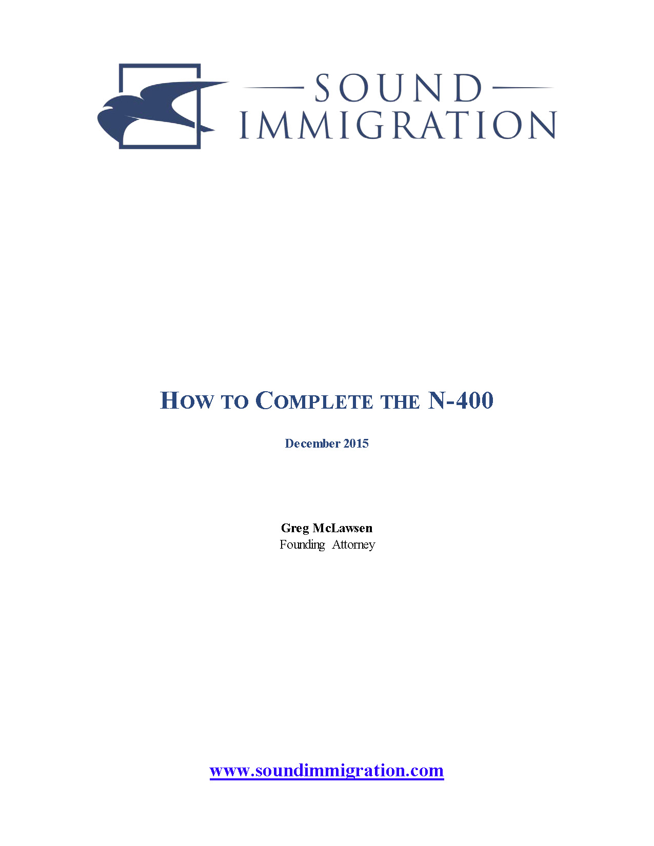 How To Complete The Form N-400