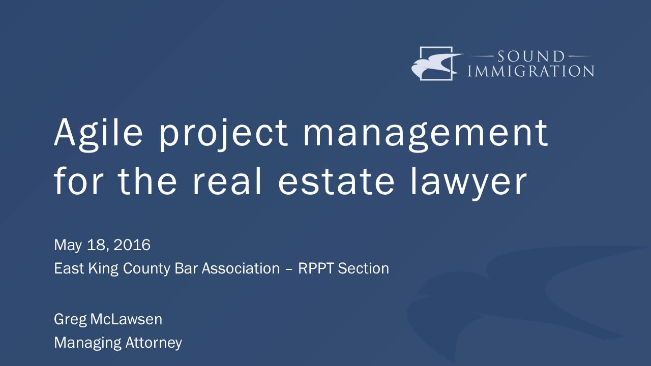 Video: Agile Project Management For Any Lawyer