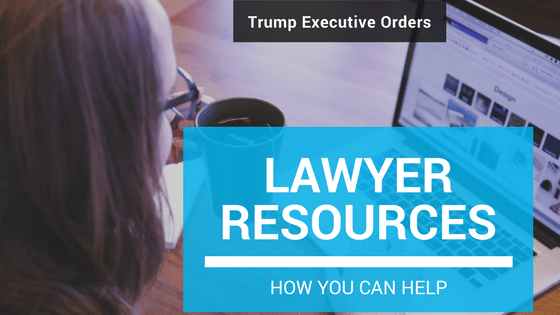 "Trump Executive Orders – ""I'm A Lawyer, What Can I Do?"""