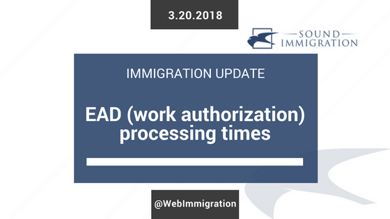How Long Does It Take For USCIS To Issue An EAD (work Authorization Card)?