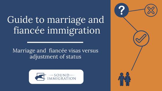 Marriage And Fiancé(e) Visas Versus Adjustment Of Status